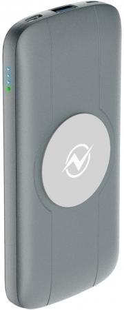 Внешний аккумулятор Power Bank 10000 мАч Partner OLMIO QW-10 серый