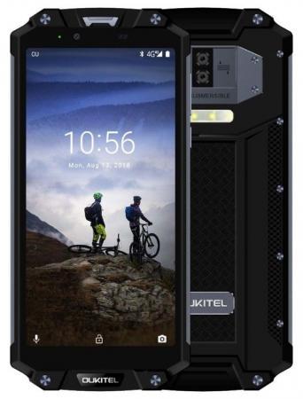 Смартфон Oukitel WP2 черный 6 64 Гб NFC LTE Wi-Fi GPS 3G Bluetooth смартфон zte nubia z17 lite синий золотистый 5 5 64 гб lte nfc wi fi gps 3g