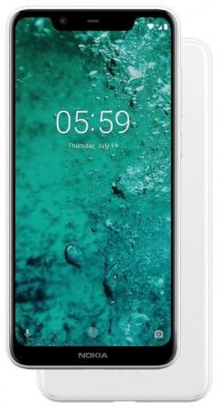 Смартфон NOKIA 5.1 Plus белый 5.8 32 Гб LTE Wi-Fi GPS 3G Bluetooth 11PDAW01A01 смартфон nokia 5 1 plus черный 5 8 32 гб lte wi fi gps 3g bluetooth 11pdab01a01