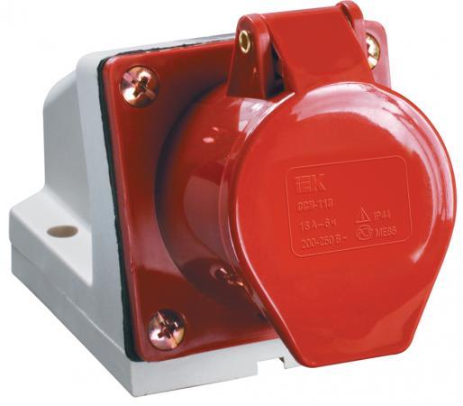Iek PSR12-032-5 Розетка 125 стационарная 3Р + РЕ+ N 32А 380В IP44 ИЭК цена
