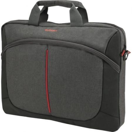 """Сумка для ноутбука 15.6"""" Sumdex PON-203GY полиэстер серый"""