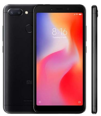 Смартфон Xiaomi Redmi 6 черный 5.45 64 Гб LTE Wi-Fi GPS 3G Bluetooth 20869 смартфон