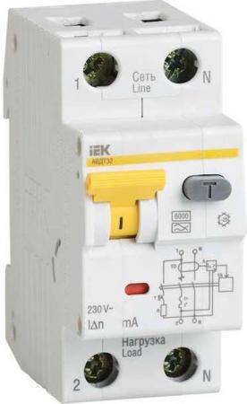 Диф. автомат IEK MAD22-5-025-B-10 2п (1p+n) b 25а 10ма тип a 6ка авдт-32 2мод.