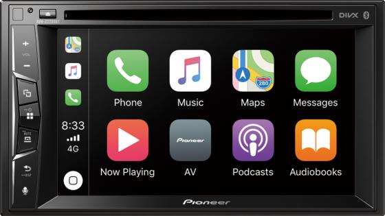 Автомагнитола CD DVD Pioneer AVH-Z2200BT 2DIN 4x50Вт