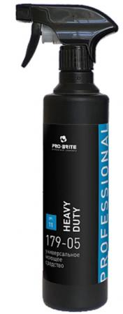 Средство моющее универсальное PRO-BRITE HEAVY DUTY 500мл средство моющее для полов pro brite laminol 500мл