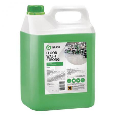 Средство моющее для полов GRASS GRASS FLOOR WASH STRONG 5,6 кг цена и фото
