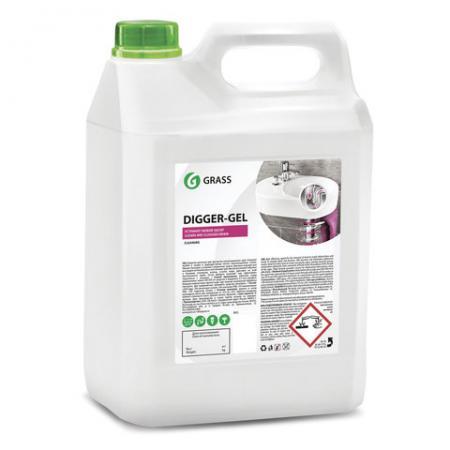 Чистящее средство для прочистки канализационных труб GRASS DIGGER-GEL 5,3 кг