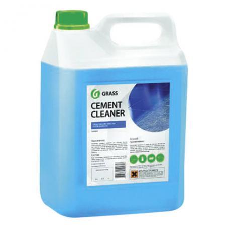 Средство моющее для уборки после строительства GRASS CEMENT CLEANER 5,5 кг цена и фото