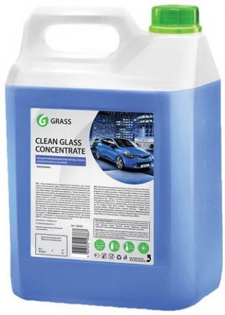 Средство для мытья стекол и зеркал 5 кг GRASS CLEAN GLASS CONCENTRATE, нейтральное, концентрат, 130101 средство для чистки и дезинфекции deso 5 кг grass 125191