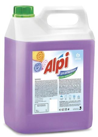 Жидкое стредство для стирки GRASS Alpi Color gel 5кг