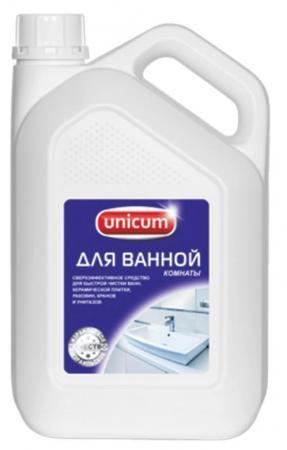 Чистящее средство для ванной комнаты и сантехники UNICUM Professional 3л чистящее средство для сантехники grohe grohclean 48166000