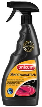 Средство для чистки плит, духовок и стеклокерамики 500 мл, UNICUM (Уникум), спрей, 300049 filtero средство для чистки духовок и свч печей 500 мл