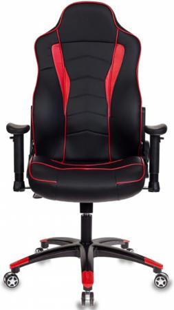 Фото - Кресло игровое Бюрократ VIKING-3/BL+RED черный/красный искусственная кожа автокресло mr sandman valencia fix черный красный amsvf 0657kres1724