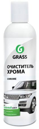 """ОЧИСТИТЕЛЬ ХРОМА """"CHROME"""" 0,25 Л (1/30) """"GRASS"""" цена 2017"""