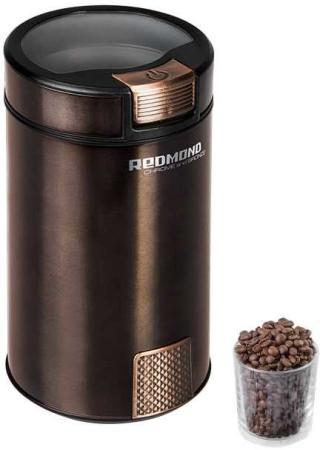 Кофемолка Redmond RCG-CBM1604 280 Вт черный цена и фото