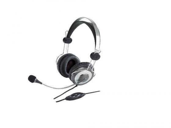 Гарнитура Genius HS-04SU аудио наушники genius наушники headset hs 04su