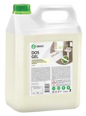 СРЕДСТВО ДЛЯ ЧИСТКИ И ДЕЗИНФЕКЦИИ САНТЕХНИКИ DOS GEL 5,3 КГ (ЩЕЛОЧНОЕ) (1/4) GRASS средство для чистки и дезинфекции deso 5 кг grass 125191