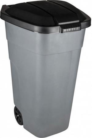 БАК ПЛАСТ. ДЛЯ МУСОРА С КРЫШКОЙ НА КОЛЕСАХ 110 Л (1) PT9957 емкость мерная plast team helsinki 1 л