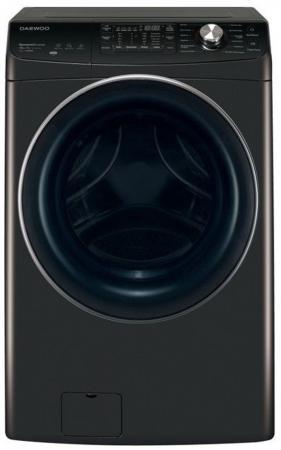 лучшая цена Стиральная машина Daewoo DWC-PFD12BP класс: C загр.фронтальная макс.:13кг (с сушкой) черный