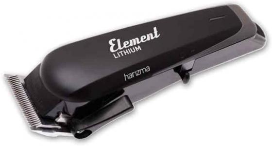 Машинка для стрижки Harizma Element Lithium черный (насадок в компл:4шт) машинка для стрижки harizma control t черный