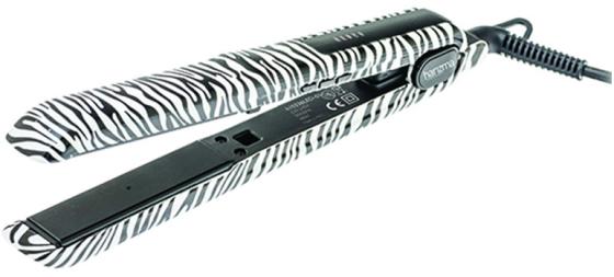 Щипцы-выпрямитель Harizma Style Colors 48Вт чёрный белый H10336LED-01