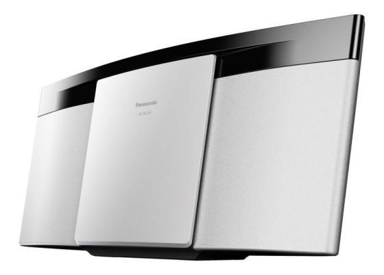 лучшая цена Микросистема Panasonic SC-HC200EE-W белый 20Вт/CD/CDRW/FM/USB/BT