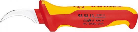 Нож KNIPEX KN-985313 для снятия изоляции 1000 V инструмент для снятия изоляции knipex kn 1630135sb