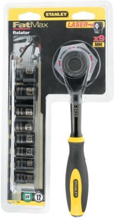 Набор торцевых ключей STANLEY 0-94-606 3/8 головки 9шт. набор ключей stanley 4 69 263