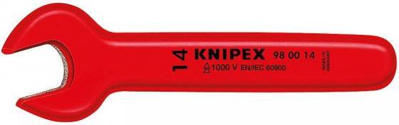 Ключ рожковый KNIPEX KN-980012 (12 мм) 125 мм knipex kn 8310010 трубный ключ 90°