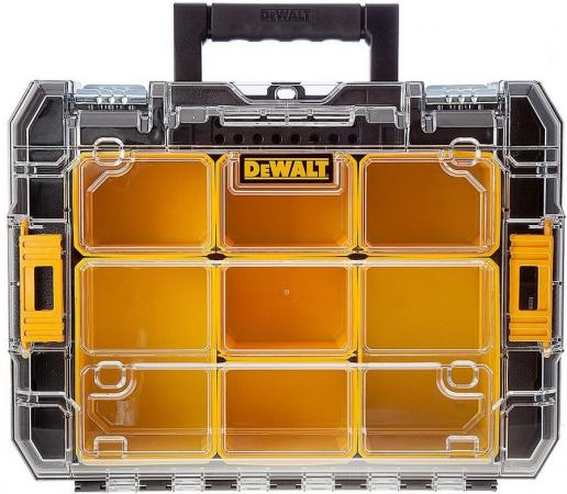 Ящик для инструмента STANLEY Dewalt TSTAK V DWST1-71194 с органайзером 40х332х145мм ящик для инструментов stanley со съемным органайзером