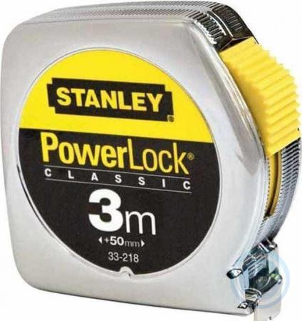 Рулетка STANLEY POWERLOCK 0-33-218 3м sog powerlock