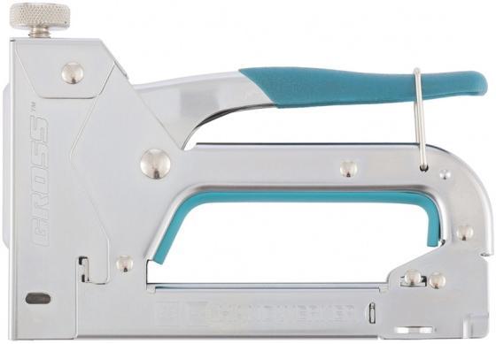 Степлер GROSS 41000 мебельный регулируемый handwerker стальной корпус тип скобы 53 4-14мм мебельный степлер gross 41002