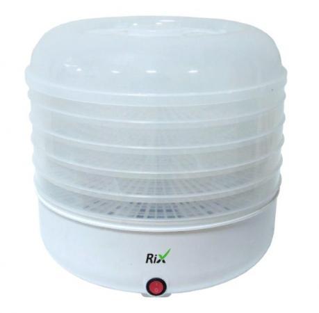 Сушилка для овощей и фруктов RIX RXD-125 белый