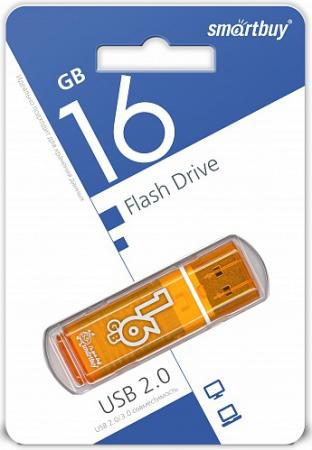 Фото - Флешка 16Gb Smart Buy Glossy USB 2.0 оранжевый SB16GBGS-Or держатель ножа xd ch4 or оранжевый