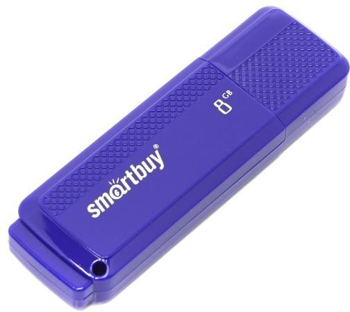 купить Флешка 8Gb Smart Buy Dock USB 2.0 синий SB8GBDK-B по цене 200 рублей