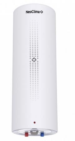 Водонагреватель накопительный NeoClima Milano 50, 50 л., 2 кВт., бак нерж., O280*1215, термостат, белый водонагреватель neoclima varadero 50