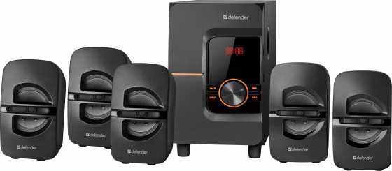 Фото - Колонки DEFENDER Cinema 52 52Вт, BT/FM/MP3/SD/USB/LED/RC колонки defender x420 чёрный 2x12 вт 16 вт 20 20 000 гц bluetooth fm mp3 sd usb ду