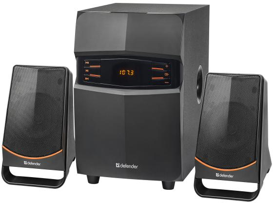 Колонки DEFENDER X181 2.1 ,18Вт, BT/FM/MP3/SD/USB/LED/RC