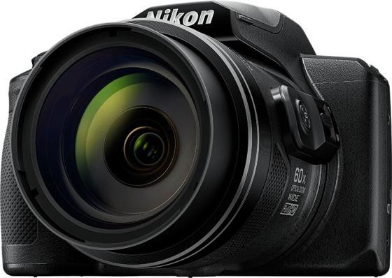 Фотоаппарат Nikon Coolpix B600 Black<16Mp, 60x zoom, 3, 1080P, WiFi, SDHC>