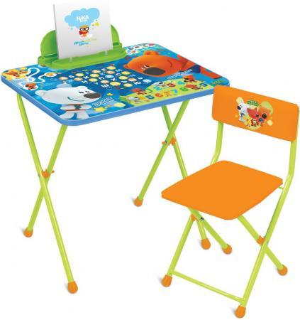 КОМПЛЕКТ ДЕТСКИЙ МИ-МИ-МИШКИ СТОЛ H=52 СМ (С ПЕНАЛОМ) + СТУЛ (МЯГК. СИДЕНЬЕ) ММ1/1 комплект мебели стол партапеналстул мягк nika что значит