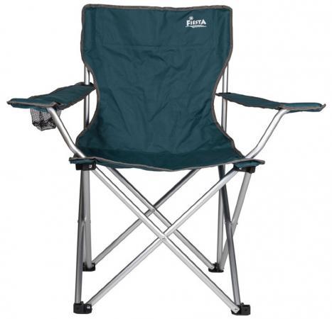 Кресло складное Fiesta Companion цвет синий кресло складное greenell баттерфляй fc 14