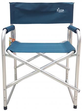 Кресло складное Fiesta Maestro цвет синий кресло складное kingcamp moon leisure chair цвет синий