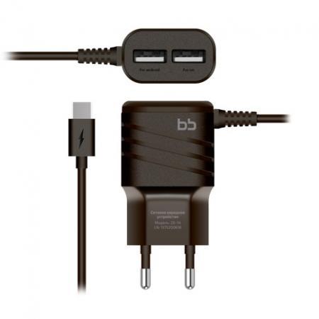 Сетевое зарядное устройство Nobby BB-TC-20-14 2А USB-C черный