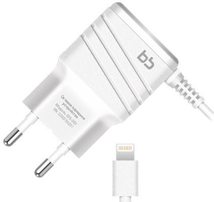 цена на Сетевое зарядное устройство Nobby 9854 2А 8-pin Lightning белый 015-001