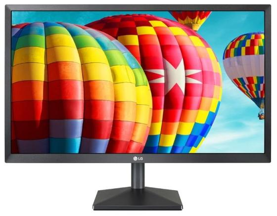 Монитор 27 LG 27MK430H-B черный IPS 1920x1080 250 cd/m^2 5 ms HDMI VGA Аудио 27MK430H-B.ARUZ монитор 27 lg 27ud58 b черный ips 3840x2160 250 cd m^2 5 ms displayport hdmi аудио