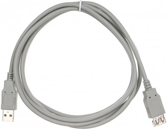 Фото - Кабель удлинительный VCOM USB2.0 AM/AF 1.8m (CU202-G) кабель vcom usb3 am af 1 8м vus7065 1 8m
