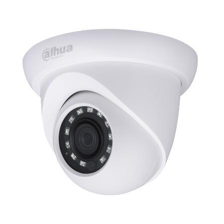 Камера видеонаблюдения Dahua DH-HAC-HDW1200SLP-0280B 2.8-2.8мм HD СVI цветная корп.:белый камера видеонаблюдения dahua dh hac hdbw1200rp z 2 7 12мм hd сvi цветная корп белый