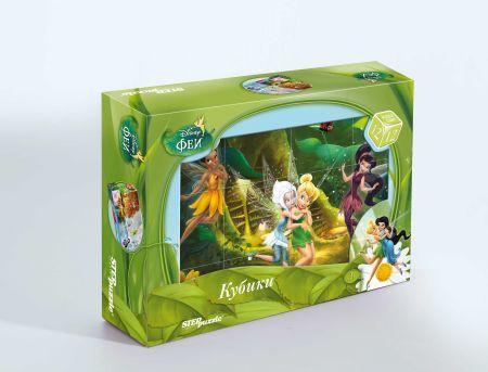"12 кубиков ""Феи"" (Disney) disney феи"