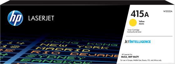 Фото - Тонер-картридж HP CLP-415 для HP Color LaserJet Pro M454 Color LaserJet Pro MFP M479 2100стр Желтый картридж netproduct ce278a для hp laserjet pro p1566 p1606dn m1536dnf черный с чипом 2100стр