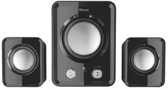 Trust Ziva Compact 2.1 Speaker Set (21525) trust ziva wireless compact black мышь